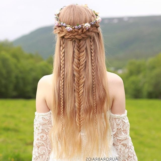 Love This So Much! Elven Princess Hairstyle (View 7 of 25)