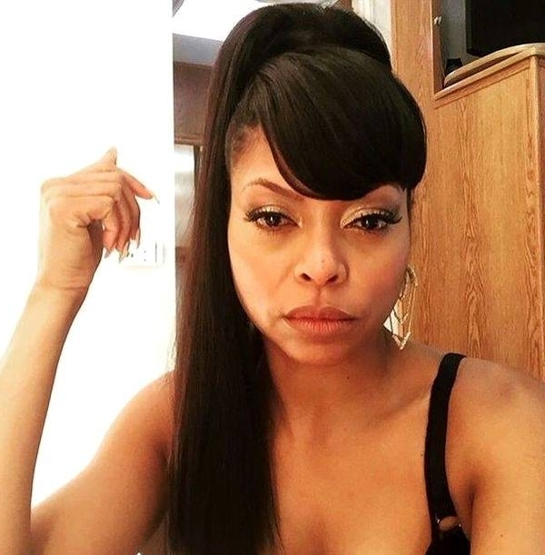 Low Ponytail Hairstyles For Black Hair With Weave – Coolhairstyles (View 8 of 25)