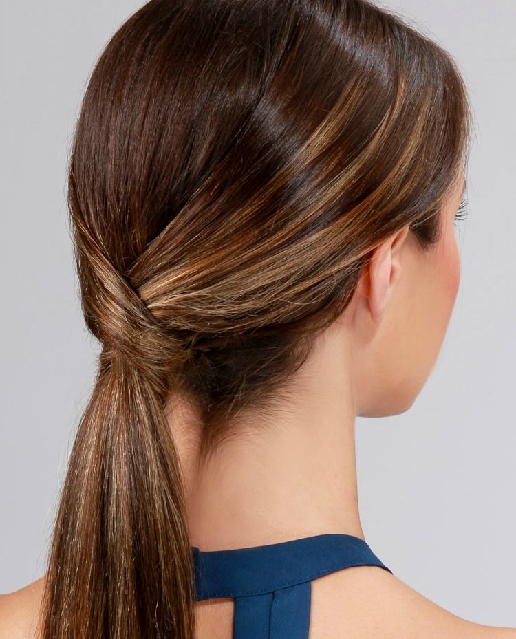Lulus How To: Runway Ready Low Ponytail – Lulus Fashion Blog Within The Criss Cross Ponytail Hairstyles (View 14 of 25)