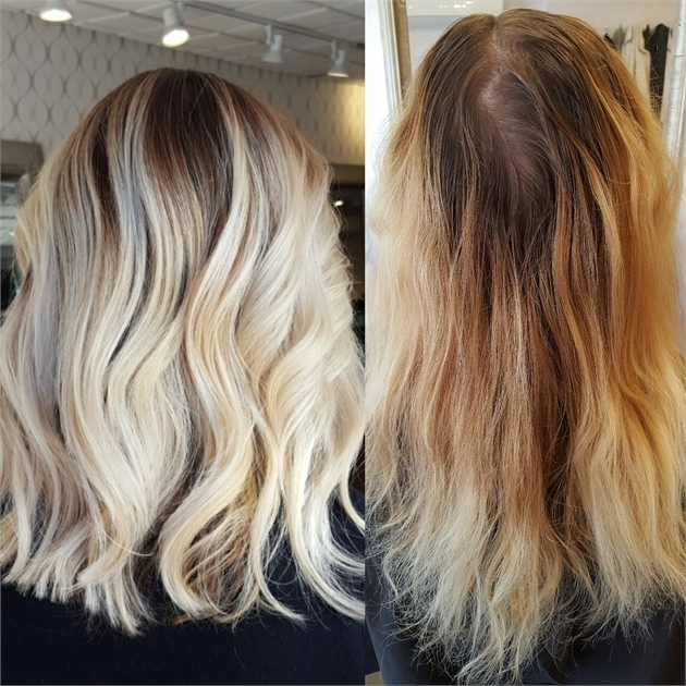 Makeover: Banded And Brassy To Stunning Blonde Melt – Hair Color Within Blonde Color Melt Hairstyles (View 21 of 25)
