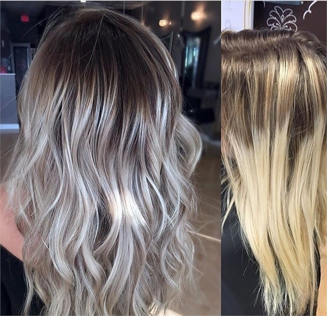 Makeover: Softening Lines To Create A Cool Blonde – Hair Color Intended For Grown Out Platinum Ombre Blonde Hairstyles (View 12 of 25)