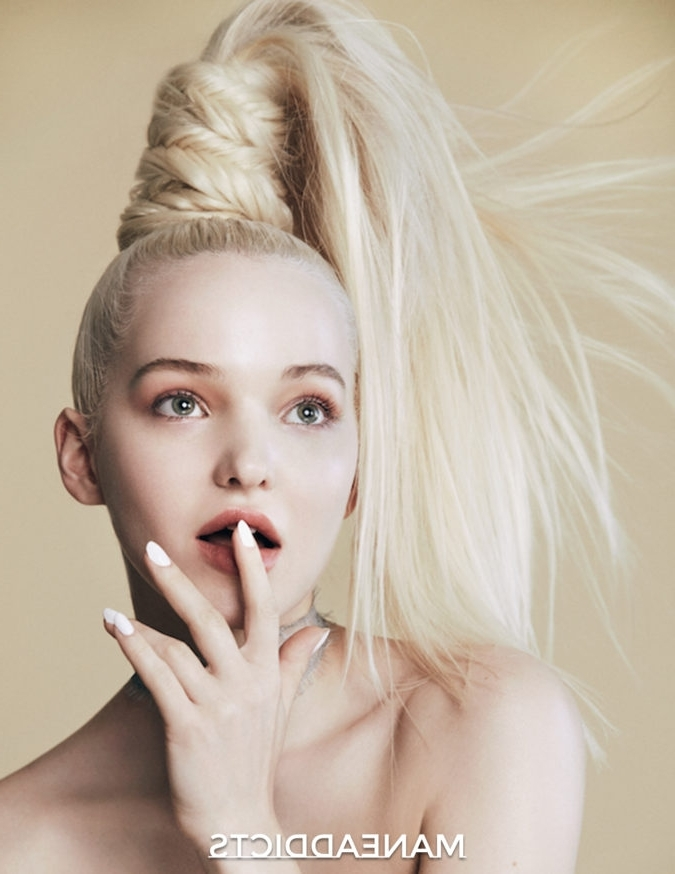 Mane Addicts High Ponytail Archives • Mane Addicts Regarding Bold And Blonde High Ponytail Hairstyles (View 22 of 25)