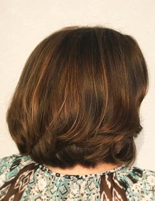 Maple Brown Highlights | Dark Brown Hair With Highlights In 2018 Inside Maple Bronde Hairstyles With Highlights (View 8 of 25)