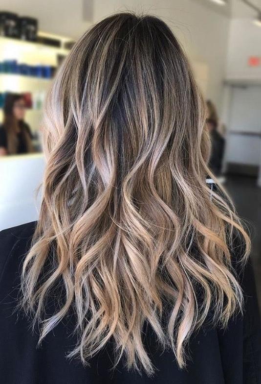 Marli Marinho (Marlijamarinho) On Pinterest Regarding Blonde And Brunette Hairstyles (View 21 of 25)
