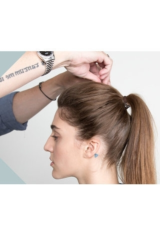 Master The Ways Of Pros And Learn To Make The Perfect Ponytail Bump Within Ponytail Hairstyles With Bump (View 19 of 25)