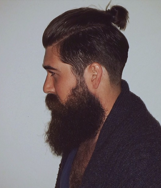 Mens Ponytail Hairstyle | Intended For Pompadour Pony Hairstyles (View 15 of 25)