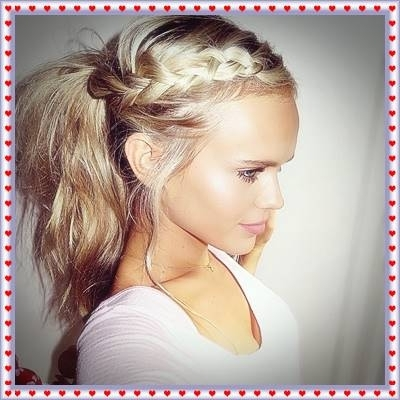 Merged Dutch Braid Messy Ponytail – Haircut Styles And Hairstyles Throughout Messy Dutch Braid Ponytail Hairstyles (View 15 of 25)