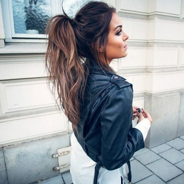 Messy Ponytail – 9 Hairstyles For Women Who Want To Look… With Regard To Messy Ponytail Hairstyles (View 23 of 25)