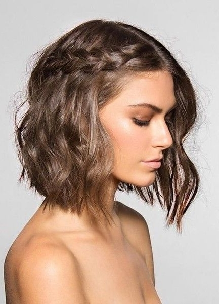 Messy Pulled Back Pixie | Hair | Pinterest | Messy Braids, Perfectly Intended For Newest Imperfect Pixie Hairstyles (View 7 of 25)