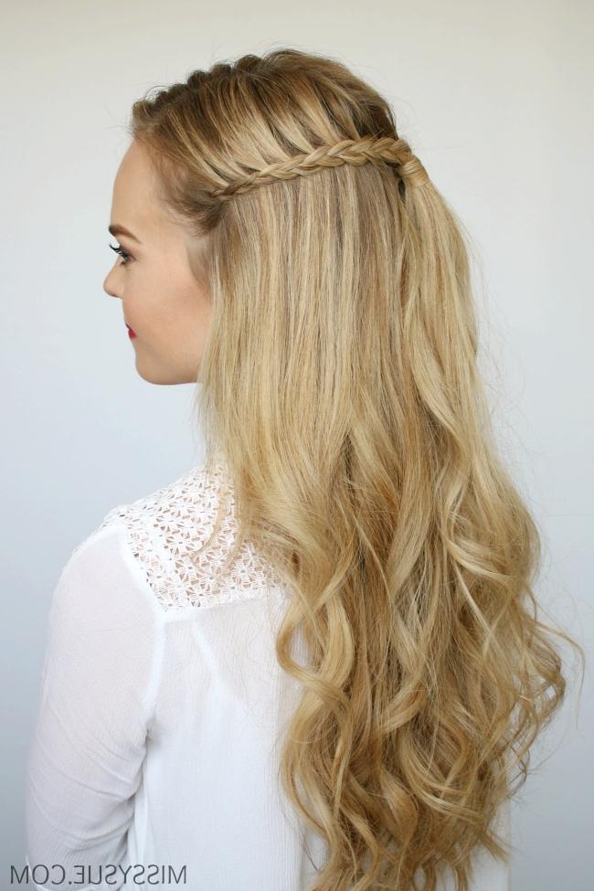 Mini Braids And Beach Waves | Missy Sue Regarding Beachy Braids Hairstyles (View 19 of 25)
