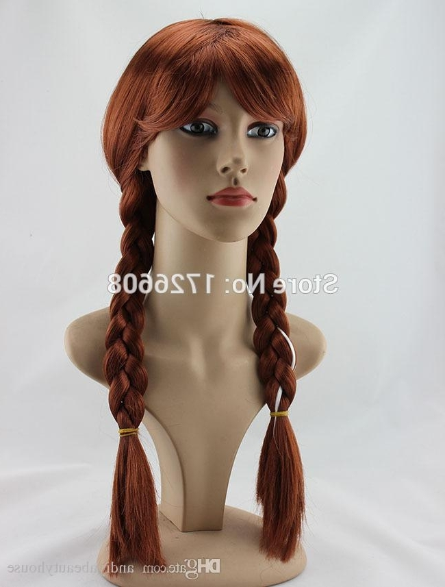 Mix Blonde Braided Wig Long Cosplay Party Wig Ponytail Hair For For Full And Fluffy Blonde Ponytail Hairstyles (View 17 of 25)