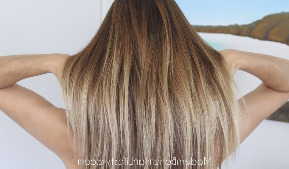Modern Bohemian Lifestyle: How I Maintain Ombre Balayage Hair At Home With Regard To Grown Out Balayage Blonde Hairstyles (View 25 of 25)