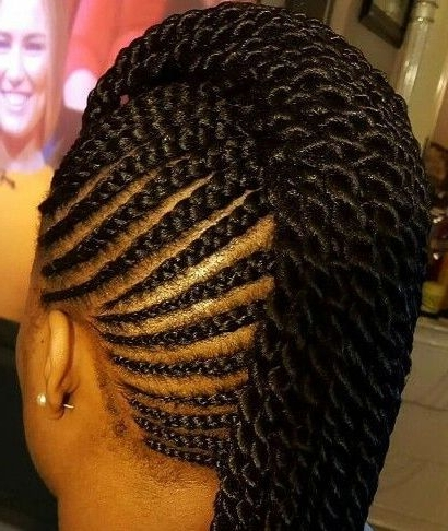 Mohawk Braids 12 Braided Mohawk Hairstyles That Get Attention Best Intended For Braided Hawk Hairstyles (View 2 of 25)