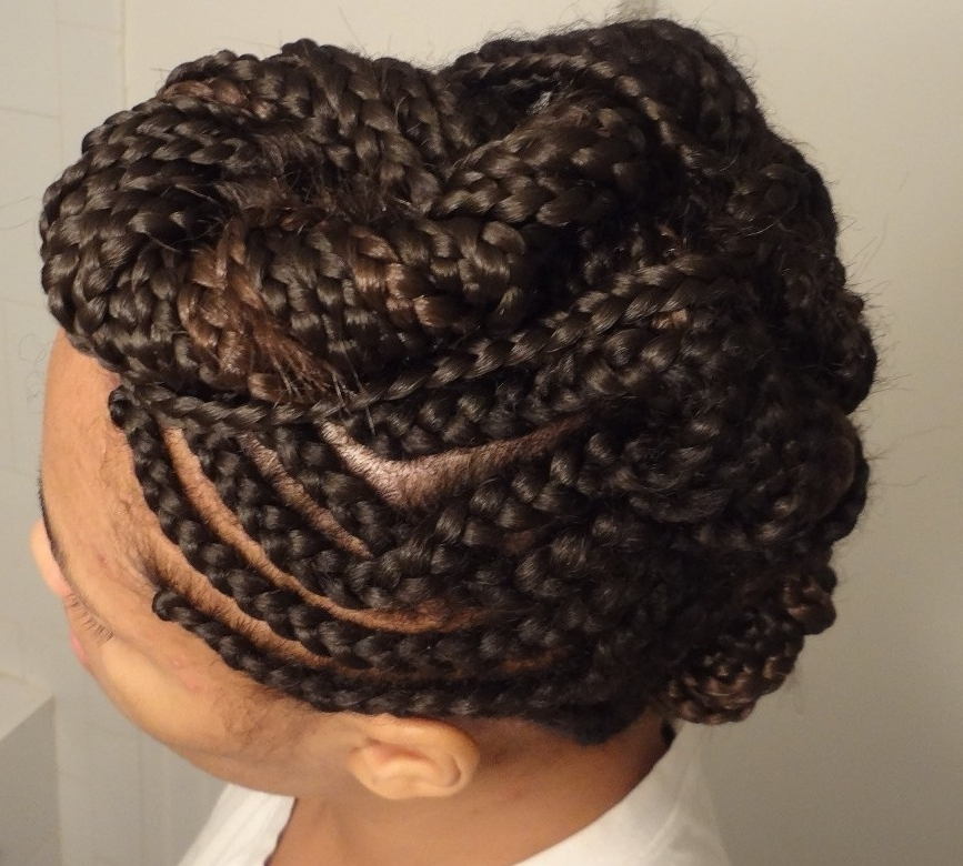 Mohawk Braids: 12 Braided Mohawk Hairstyles That Get Attention For Braided Hawk Hairstyles (View 24 of 25)