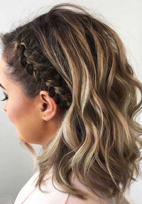 Most Beautiful Medium Braided Hairstyles 2018 For Women | Hair Ideas With Regard To Brunette Macrame Braid Hairstyles (View 18 of 25)