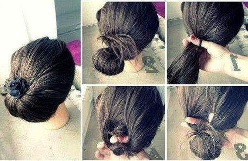 Musely Within Low Hanging Ponytail Hairstyles (View 17 of 25)