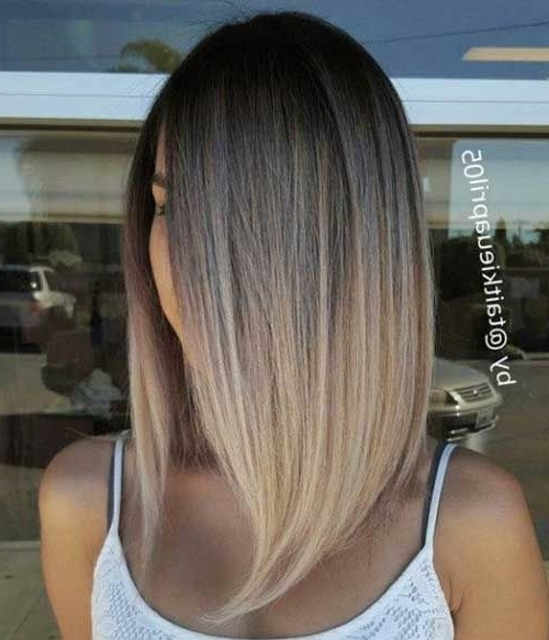 Must See Straight Hairstyles For Short Hair | Short Hairstyle Regarding Silver Blonde Straight Hairstyles (View 12 of 25)