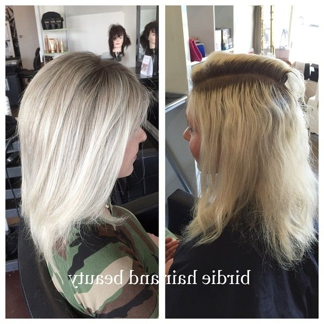 My Client Was Wanting To Grow Out Her Over #bleached Hair (View 19 of 25)