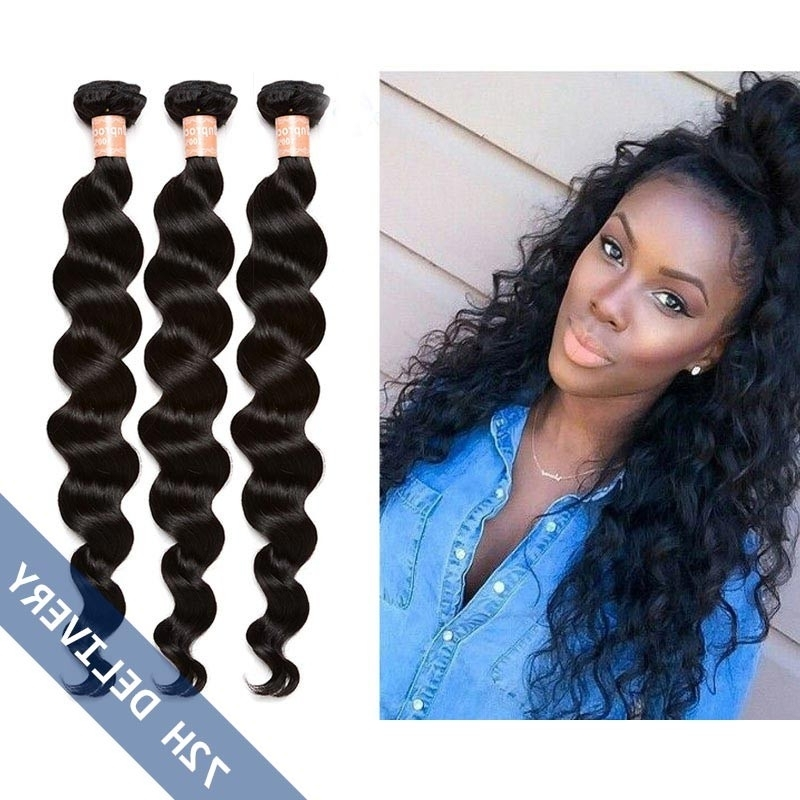 Natural Color Loose Wave Hair Extensions Brazilian Virgin Human Hair inside Natural Color Waves Hairstyles