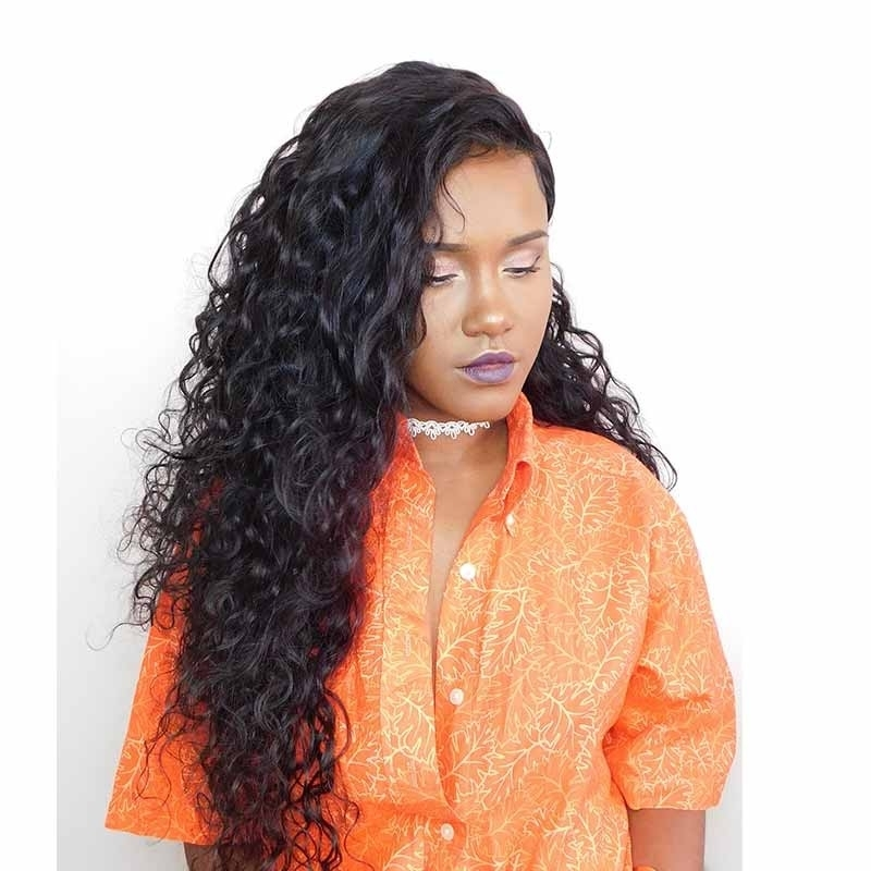 Natural Color Water Wet Wave Hair Extensions Brazilian Virgin Human with regard to Natural Color Waves Hairstyles