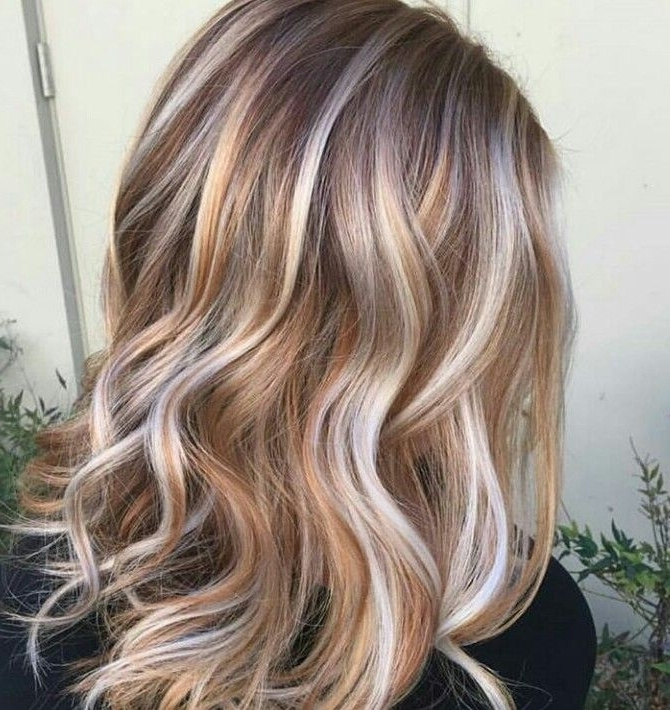 Neopolitan- Chocolate, Strawberry, And Vanilla | Hair | Pinterest with Light Chocolate And Vanilla Blonde Hairstyles