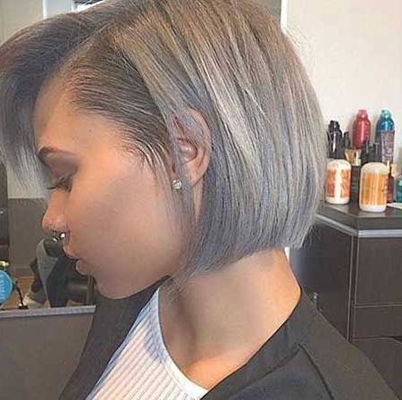 New Ash Blonde Hair Color Ideas | Short Hairstyles & Haircuts 2018 in Most Popular African-American Messy Ashy Pixie Hairstyles