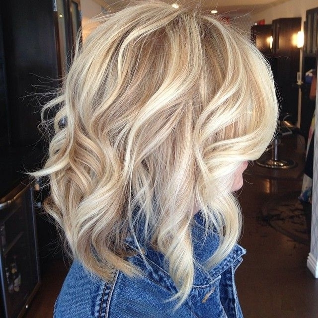New Best Blonde Hairstyle Ideas With Lowlights In Long Bob Blonde Hairstyles With Lowlights (View 22 of 25)