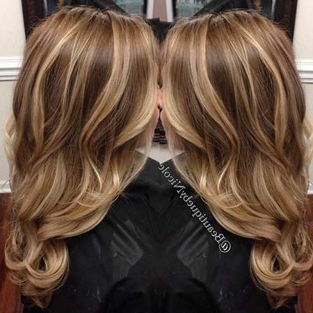 New Blonde And Brown Colored Hairstyles | Hairstyles & Haircuts 2016 Regarding Light Brown Hairstyles With Blonde Highlights (View 24 of 25)