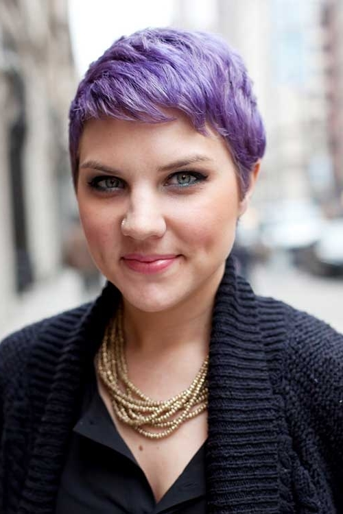 New Pixie Haircuts For Girls | Short Hairstyles 2017 - 2018 | Most for Platinum And Purple Pixie Blonde Hairstyles