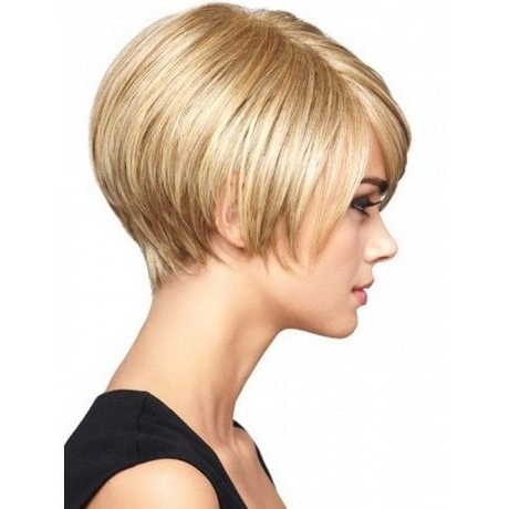 New Short Wedge Hairstyles For Thick Hair – Uternity throughout Most Recently Pixie Wedge Hairstyles