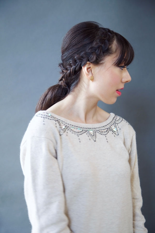 Oh My Drifter | Lacy Braided Ponytail – Oh My Drifter Intended For Ponytail And Lacy Braid Hairstyles (View 20 of 25)