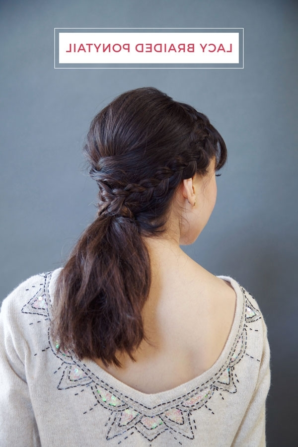 Oh My Drifter | Lacy Braided Ponytail – Oh My Drifter With Ponytail And Lacy Braid Hairstyles (View 8 of 25)