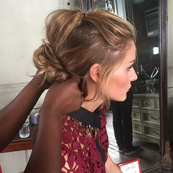 Olivia Palermo | Get The Look: Making Half Up Hair Cool Again With Regard To Ponytail And Lacy Braid Hairstyles (View 22 of 25)