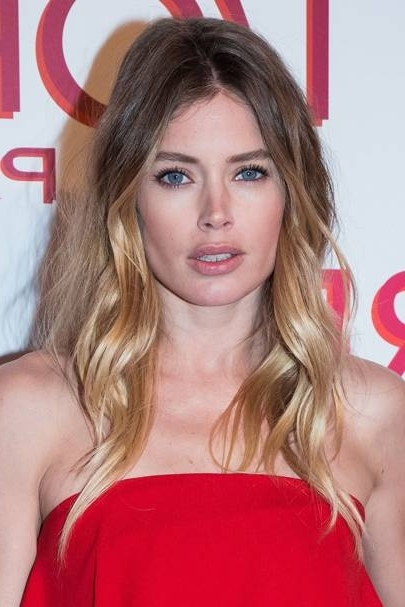 Ombre Hair Colour: Dip Dye Celebrity Hairstyles | Glamour Uk in Ombre-Ed Blonde Lob Hairstyles