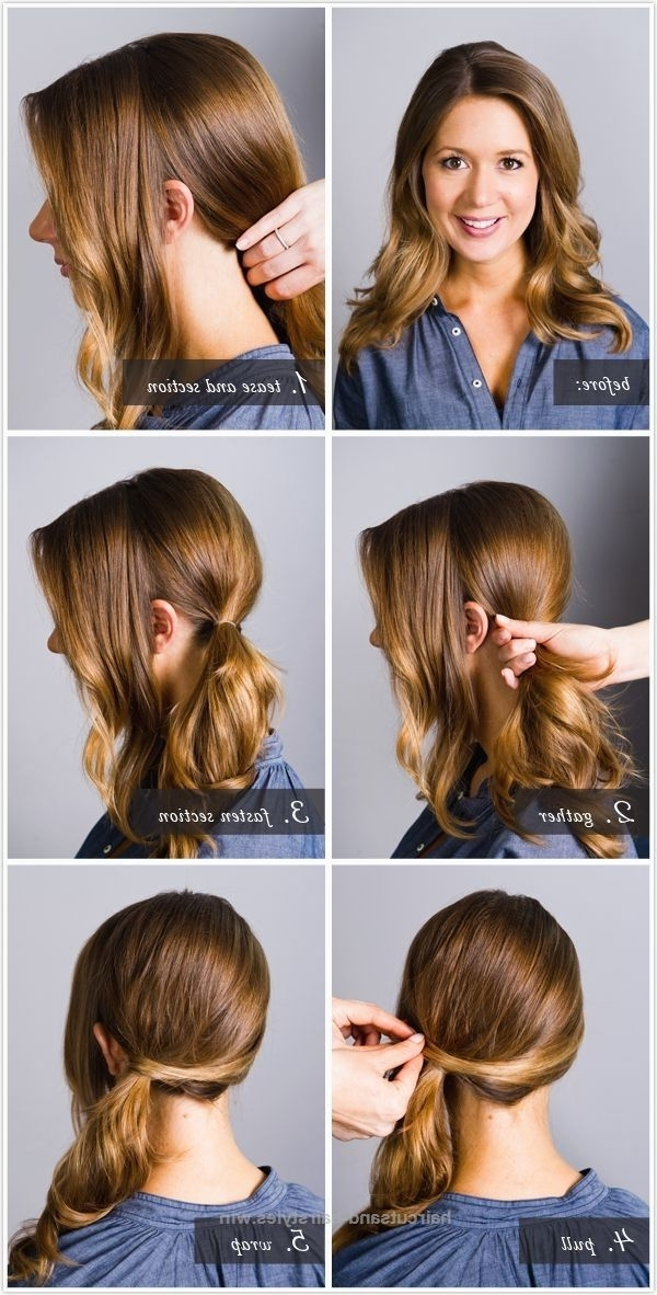One Side Ponytail Hairstyles For Medium Hair ~ Calgary, Edmonton Within Ponytail Hairstyles For Layered Hair (View 12 of 25)
