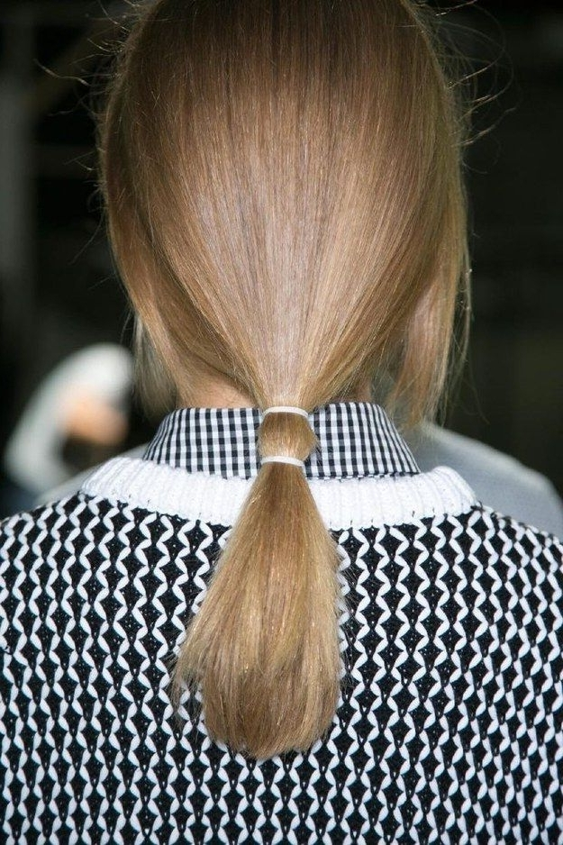 Or To Get Your Double-Tie On, Big Time. | Pinterest | Ponytail, Hair intended for Double Tied Pony Hairstyles