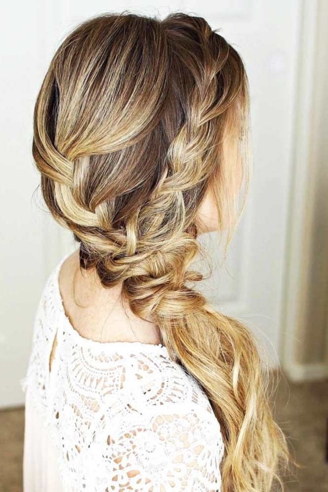 Our Side Ponytail Ideas Will Inspire You To Create A Romantic And In Princess Tie Ponytail Hairstyles (View 12 of 25)