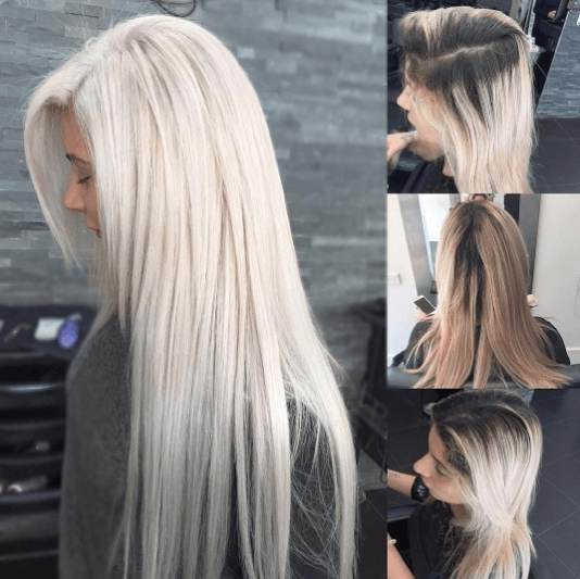 Our Unmissable White Blonde Hair Picture Gallery And Tips intended for Dark Blonde Into White Hairstyles