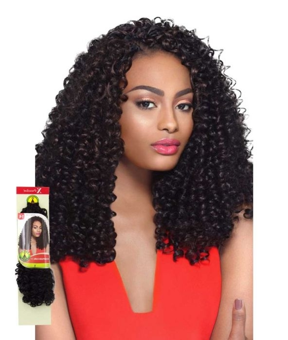 """Outre X Pression Braid 4 In 1 Crochet – Bohemian Curl 14"""" – Braids Intended For Braided Boho Locks Pony Hairstyles (View 19 of 25)"""