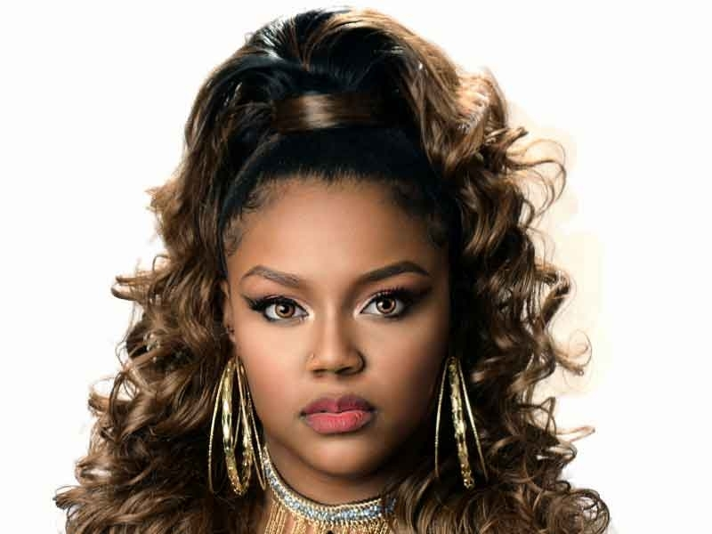 Over 180 Ponytail Hairstyles For Black Women You Need To See For High Curly Black Ponytail Hairstyles (View 23 of 25)