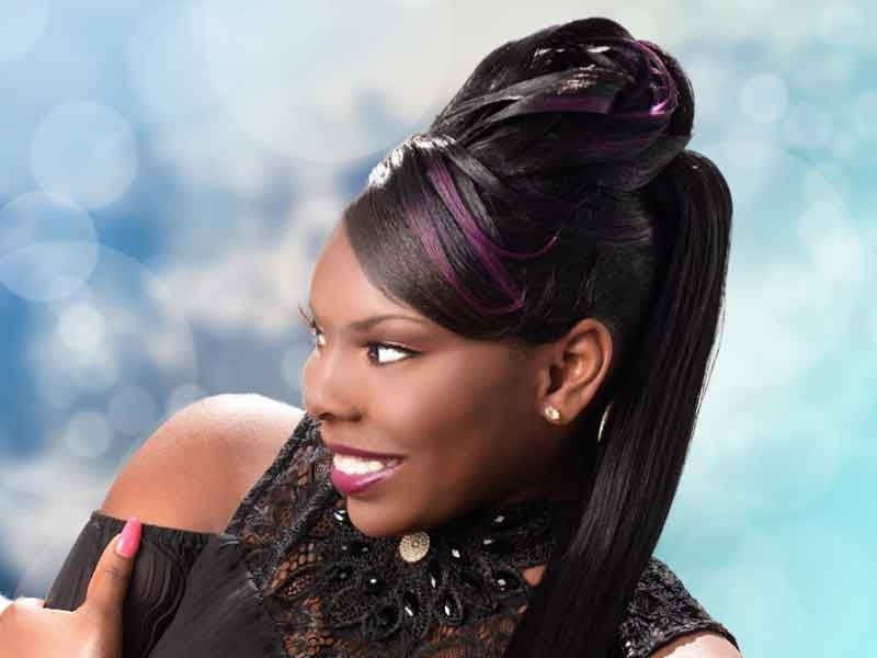 Over 180 Ponytail Hairstyles For Black Women You Need To See Intended For On Top Ponytail Hairstyles For African American Women (View 20 of 25)