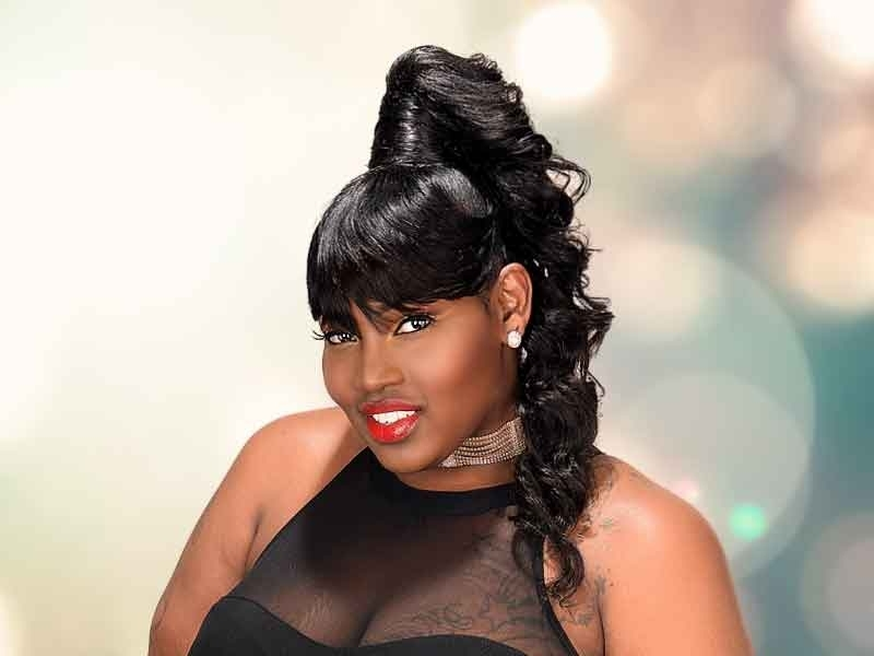 Over 180 Ponytail Hairstyles For Black Women You Need To See regarding Low Black Ponytail Hairstyles With Bangs
