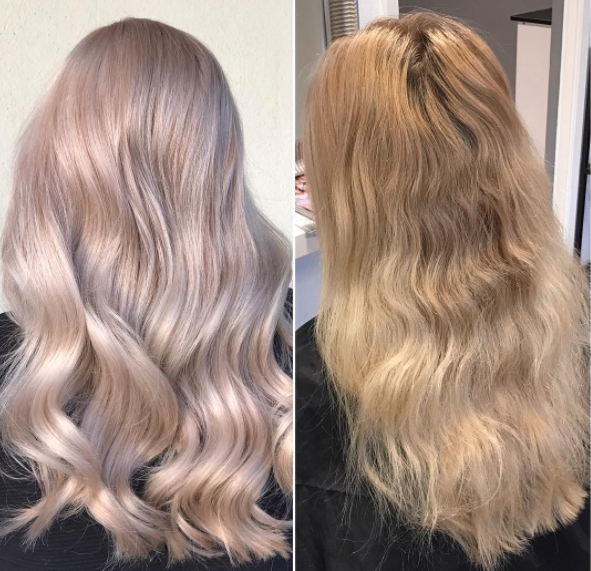 Pearl Ash Blonde – Behindthechair With Pearl Blonde Highlights (View 21 of 25)