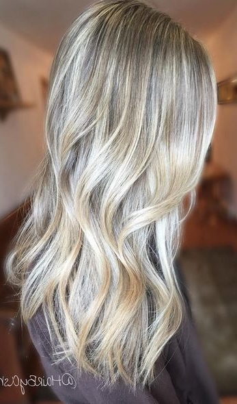 Pearl Blonde Babylights – Mane Interest Throughout Pearl Blonde Highlights (View 17 of 25)