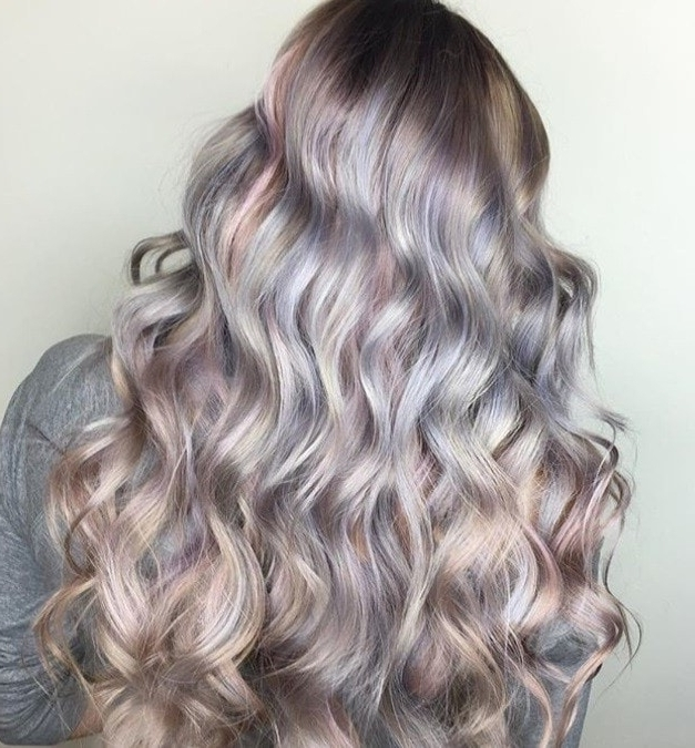 Pearl Hair Is The Dreamiest Spring Hair Trend You'll Want To Try! Intended For Pearl Blonde Highlights (View 19 of 25)