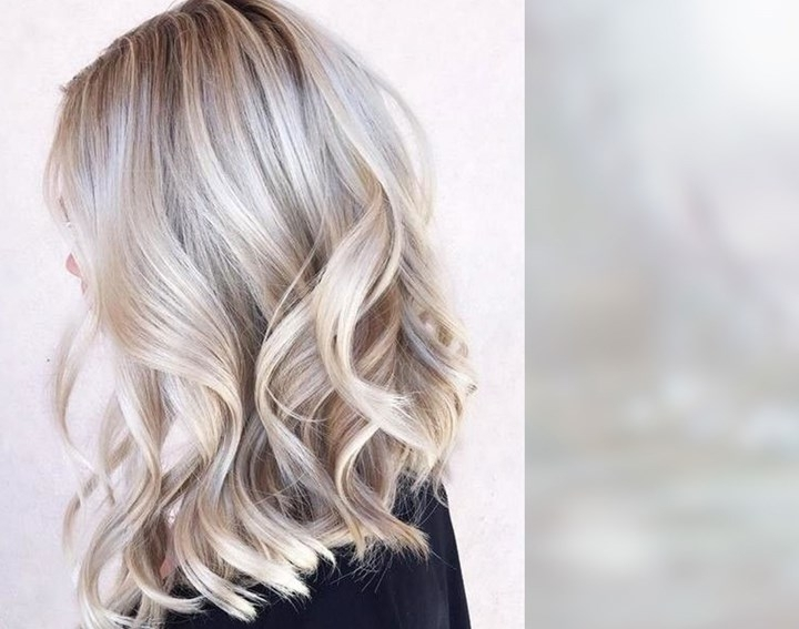 Pearl Hair: The Latest Colour Trend To Take Over Your Feed | Instyle For Pearl Blonde Bouncy Waves Hairstyles (View 21 of 25)