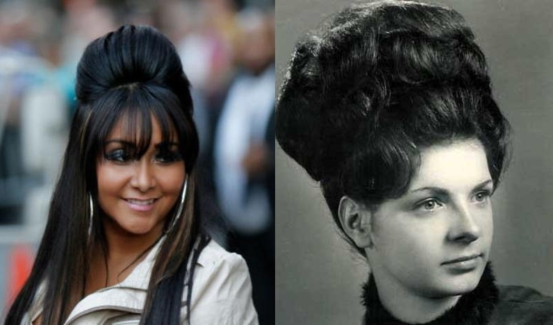 """Pentecostal Hairstyles: The Pentecostal Pouf   """"the Bigger The Hair Intended For Mature Poofy Ponytail Hairstyles (View 18 of 25)"""