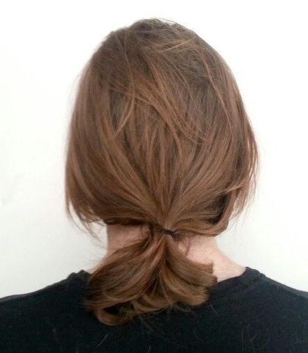 Perfect Man Carefree Low Hanging Ponytail | Man | Pinterest Within Low Hanging Ponytail Hairstyles (View 6 of 25)