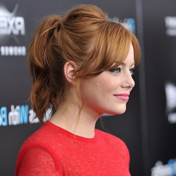 Perfect Ponytails: 20 Wonderful Ways To Wear Your Hair Up | Slice (View 25 of 25)