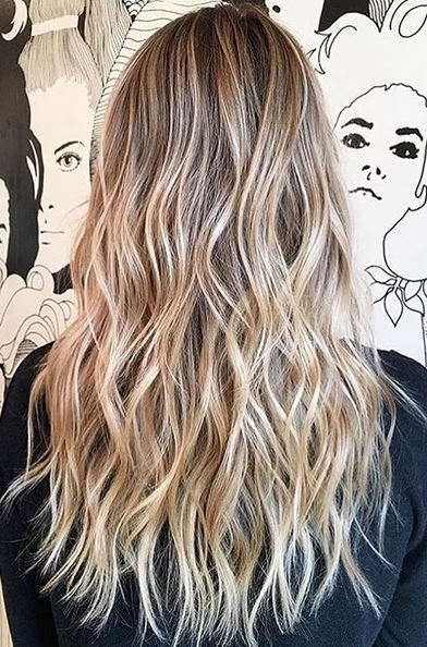 Perfect Sandy Blonde Blend – Mane Interest With Sandy Blonde Hairstyles (View 23 of 25)